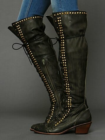 Studded Joe Tall Boots (Free People) $199.95