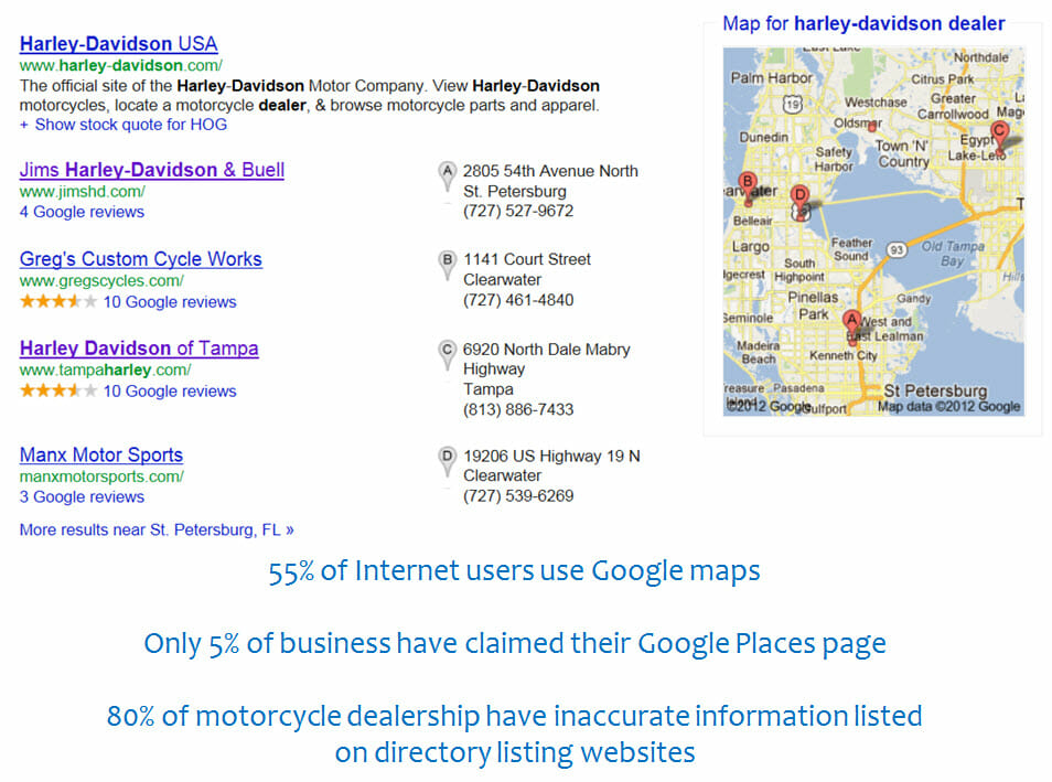 google places examples