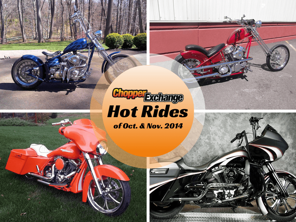 OCT - NOV HOT RIDES BLOG