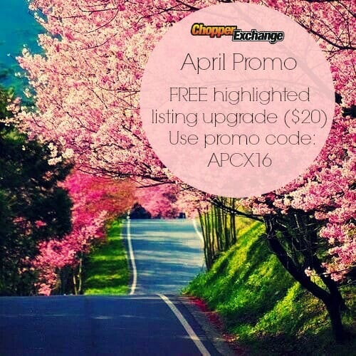 ChopperExchange April Promo