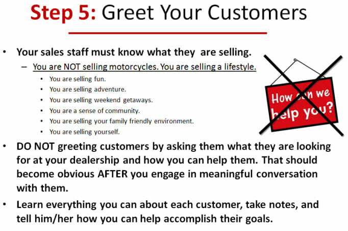 Greet Your Customers