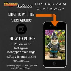 ChopperExchange Instagram Giveaway