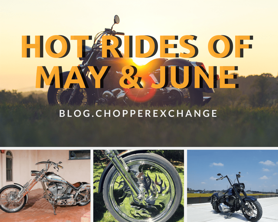 Hot Rides of May and June