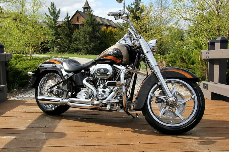 2011 Harley-Davidson® FLSTSE2 CVO™ Softail® Convertible