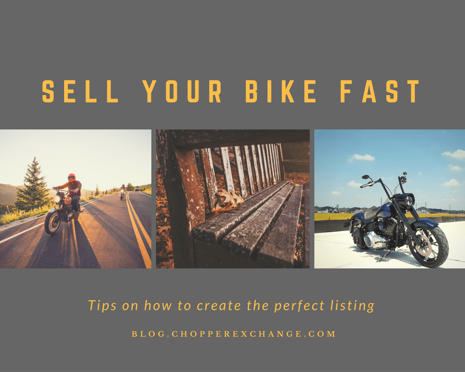 Sell Your Bike Fast - Fall 2016