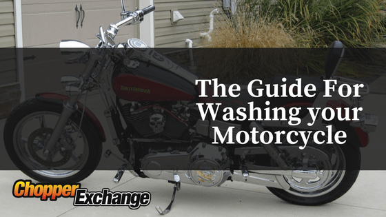 The Guide For Washing Motorcycle