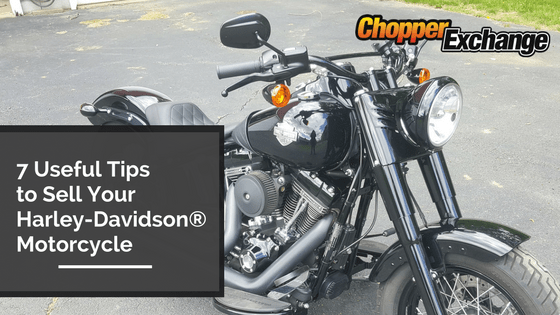 7 Useful Tips to Sell Your Harley-Davidson® Motorcycle